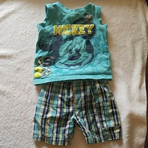 🎉$5🎉Mickey Mouse outfit. 18month Disney EUC!